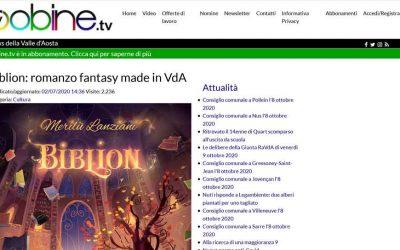 Biblion: romanzo fantasy made in VdA