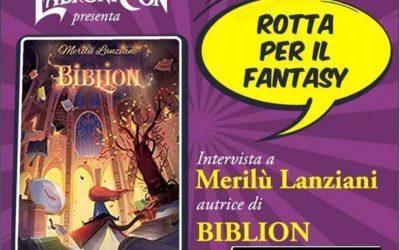 Rotta per il fantasy: Biblion approda su LabroniCon!