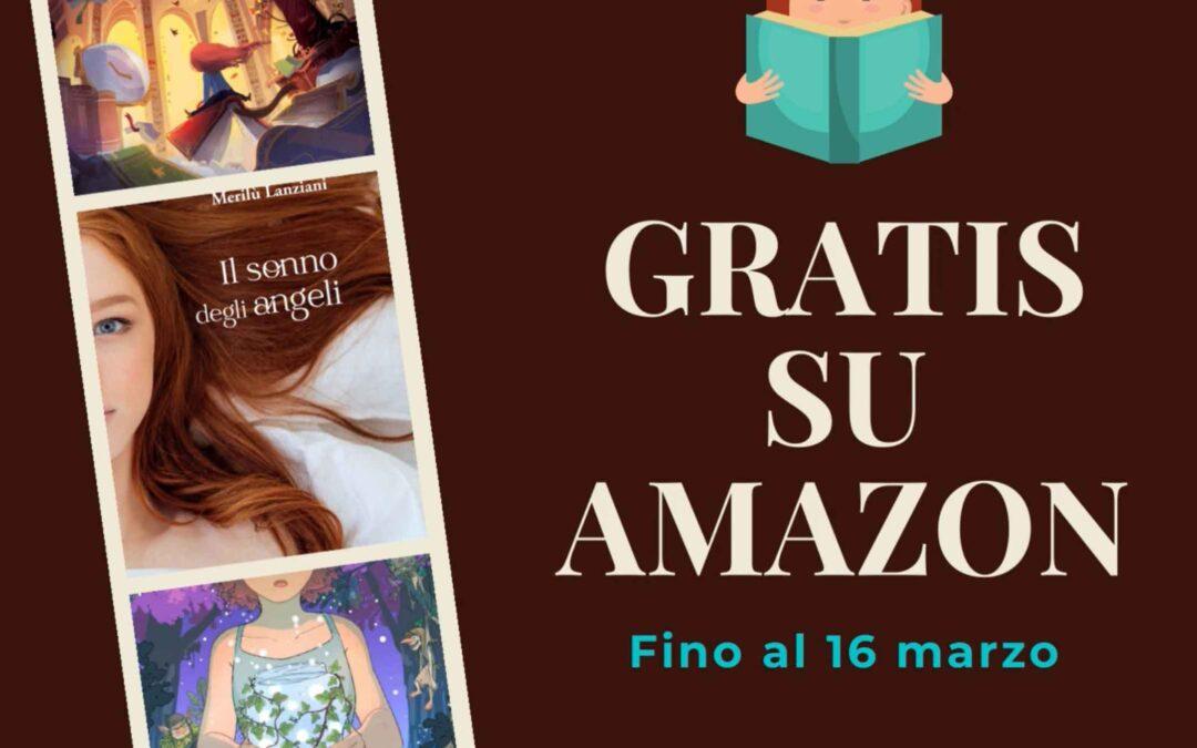 I libri per ragazzi di Merilù Lanziani gratis fino al 16 marzo!